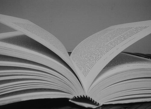 Geur van verse boeken