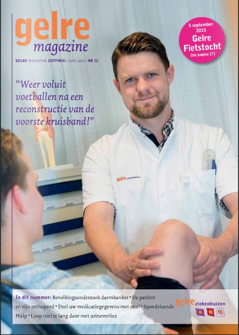 Gelre magazine, huis-aan-huis in Apeldoorn en Zutphen