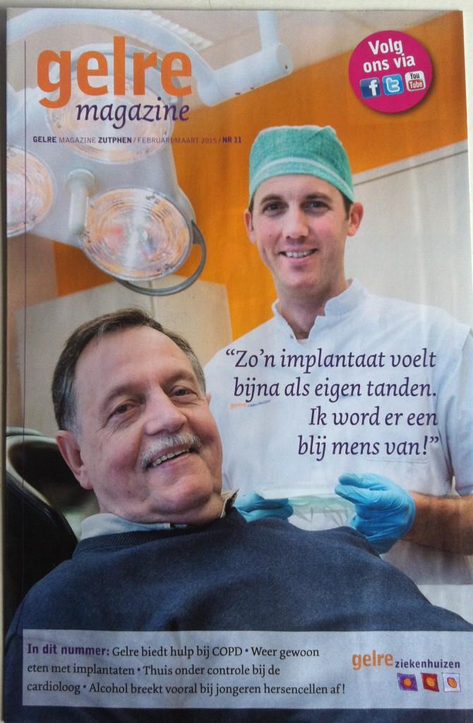 Gelre magazine, uitgave van Gelre ziekenhuizen