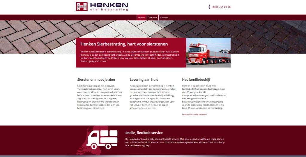 Henken Veenendaal: Sierbestrating en Transport