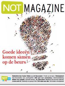 NOT Magazine, voor de vakbeurs voor onderwijsprofessionals