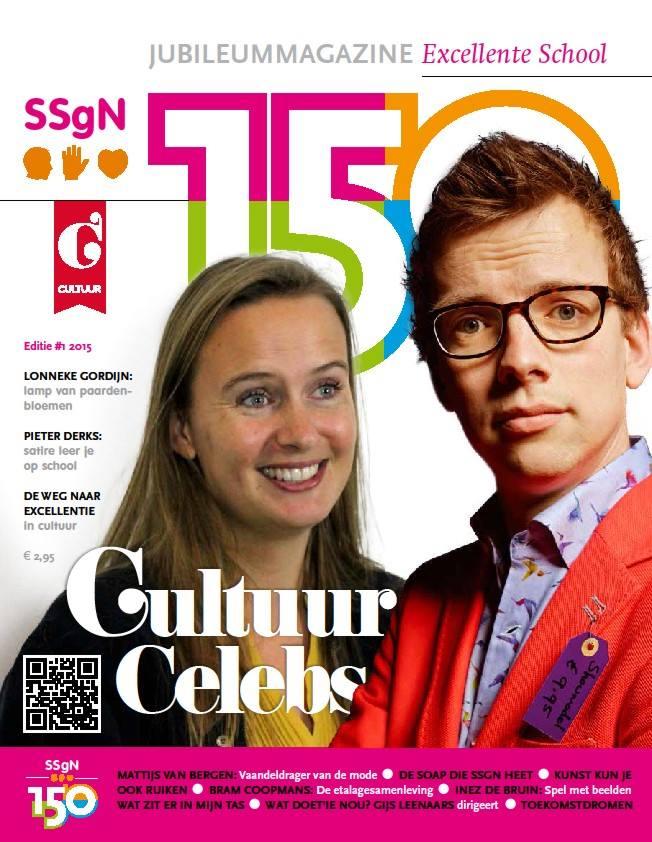 SSgN 150 jaar, jubileummagazines met vier thema's