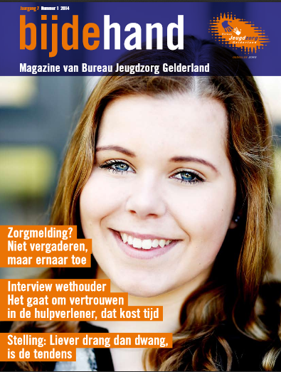 Bijdehand, magazine van Bureau Jeugdzorg