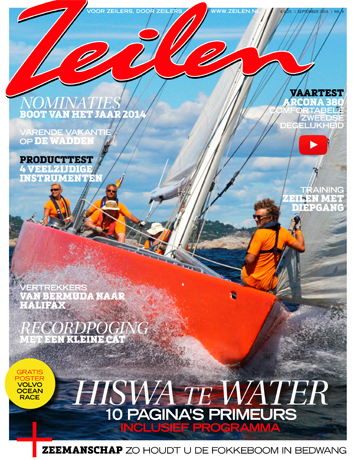 Zeilen magazine, reportage over Mindful zeilen