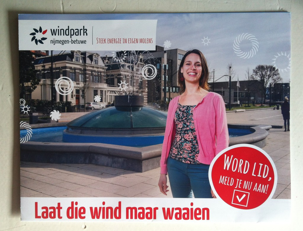 Informatiekrant Windpark Nijmegen-Betuwe, oplage: 15.000