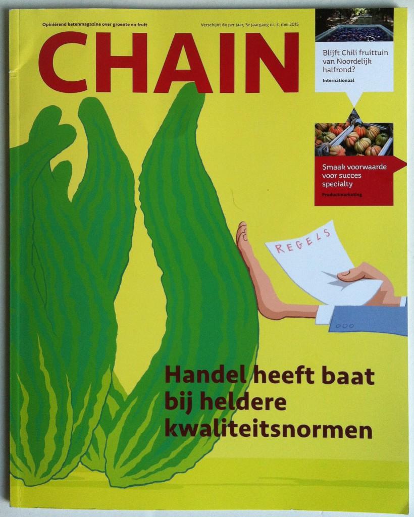 CHAIN magazine, opiniërend ketenmagazine groente en fruit