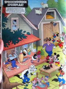 Spreekwoorden Donald Duck