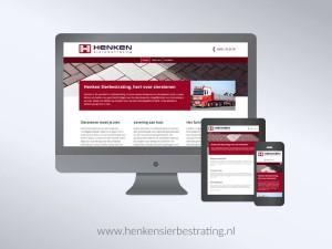 Henken Sierbestrating: webteksten