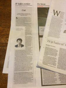 Column Volkskrant