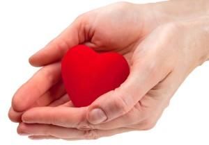 Hand en hart