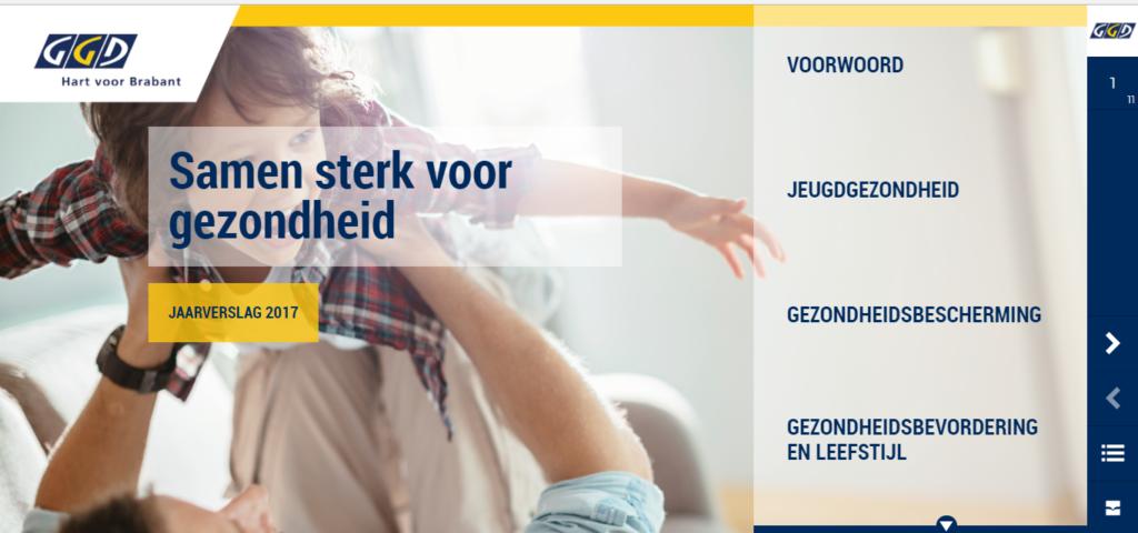Jaarverslag GGD Hart voor Brabant