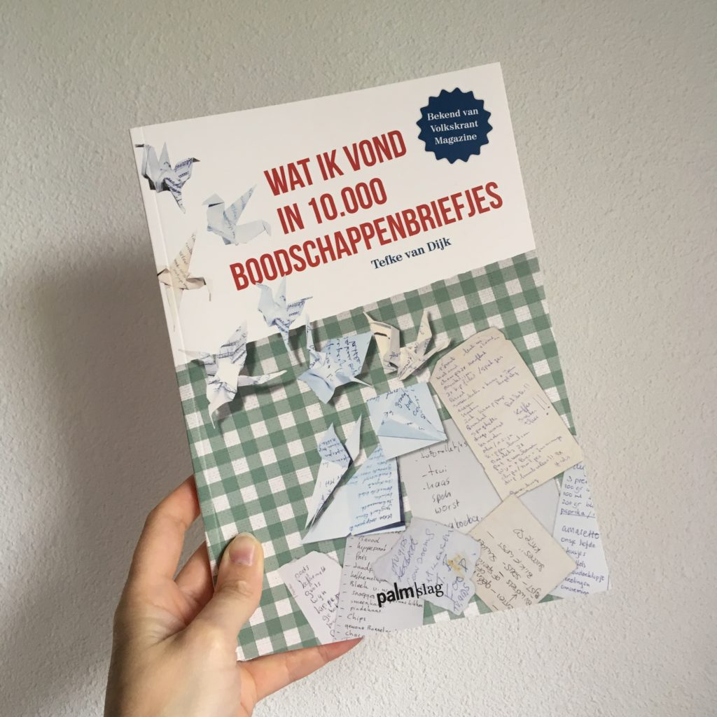 Boek Boodschappenbriefjes